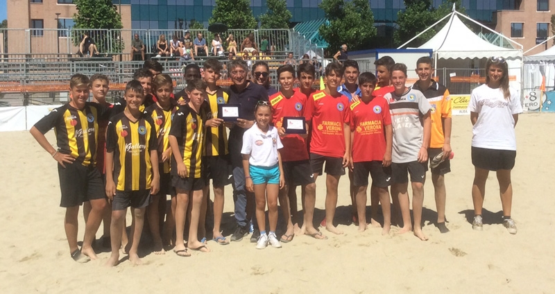 EVENTI / L'Area Calcio domina anche nel beach soccer ad Alba